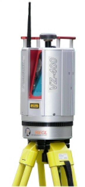 Наземный сканер riegl vz 400
